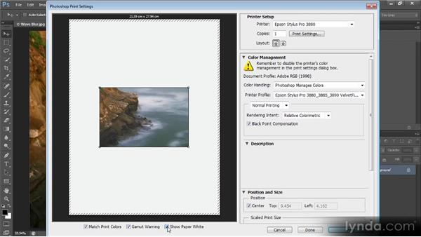 Printing from Photoshop: Optimal Output with Photoshop CS6