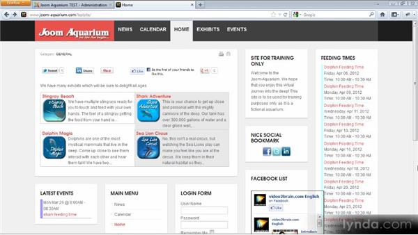 Modifying a responsive template: Adding Dynamic Functionality to Your Joomla! Site