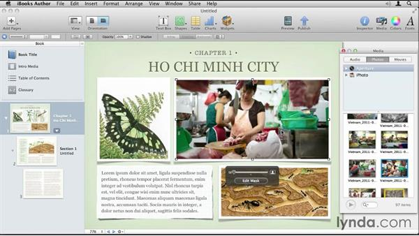 Welcome: Up and Running with iBooks Author