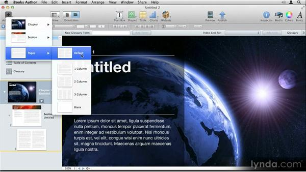 Templates tour: Up and Running with iBooks Author