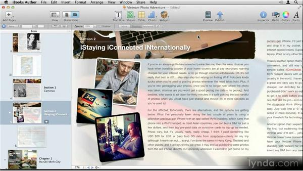 Previewing on your iPad: Up and Running with iBooks Author