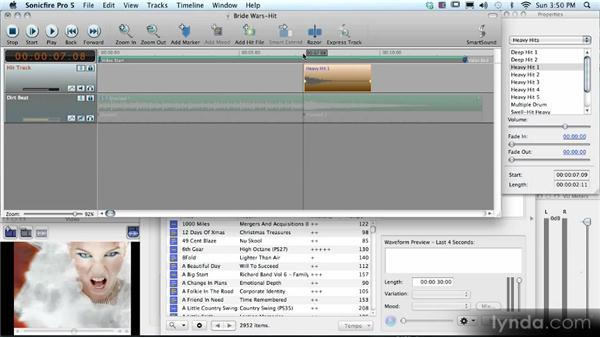 Working with Hit files: SmartSound Sonicfire Pro 5 Workshop