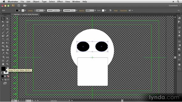 Using the shape tools: Up and Running with Illustrator CS6