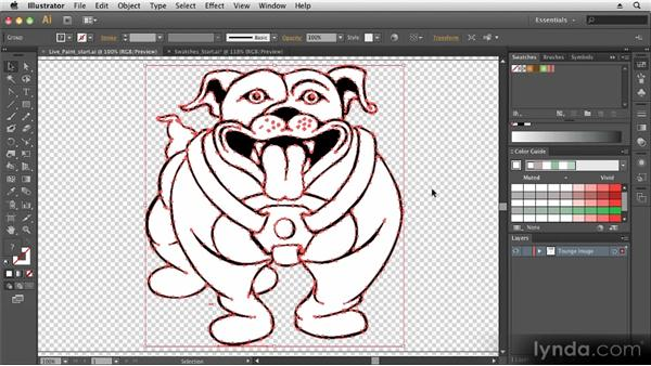 Coloring artwork: Up and Running with Illustrator CS6