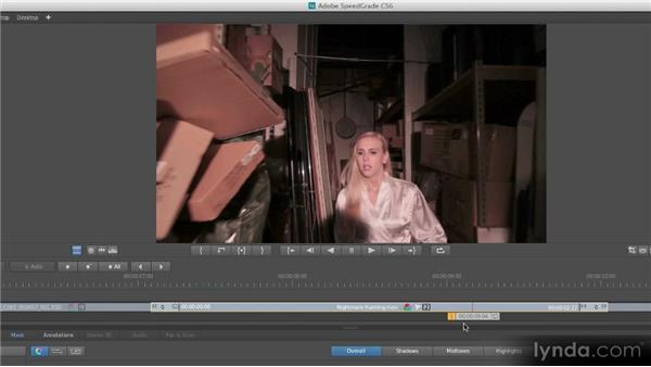 The difference color correction makes: Getting Started with SpeedGrade CS6