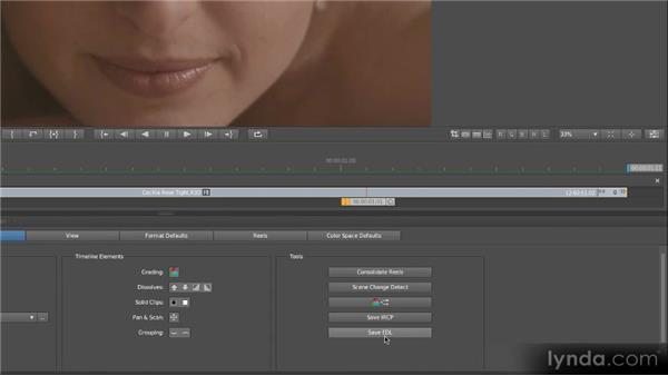 Saving projects: Getting Started with SpeedGrade CS6