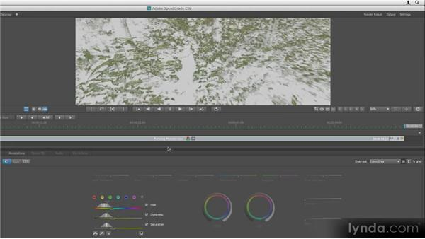 Isolating colors: Getting Started with SpeedGrade CS6