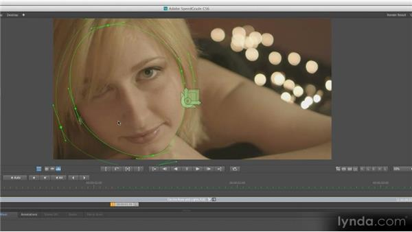 Creating masks: Getting Started with SpeedGrade CS6