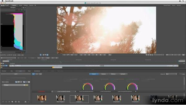What is a creative grade?: Getting Started with SpeedGrade CS6