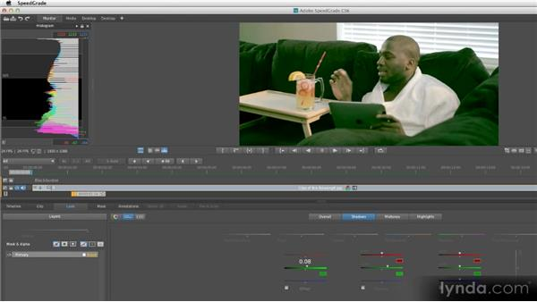 Sample project: Hollywood blockbuster: Getting Started with SpeedGrade CS6
