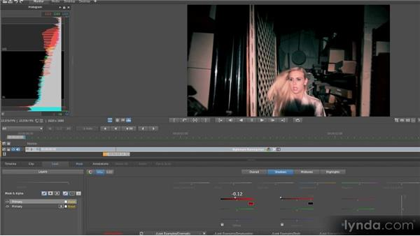 Sample project: Horror movie: Getting Started with SpeedGrade CS6