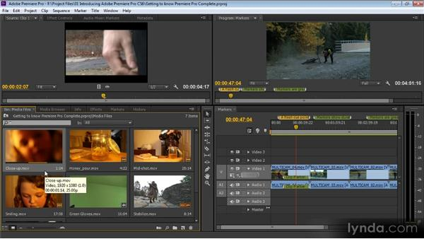Getting to know Adobe Premiere Pro CS6: Premiere Pro CS6 for Avid and Final Cut Pro Editors