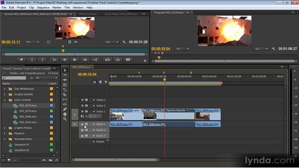 Timeline track controls: Premiere Pro CS6 for Avid and Final Cut Pro Editors