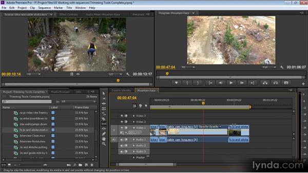 Trimming tools: Premiere Pro CS6 for Avid and Final Cut Pro Editors