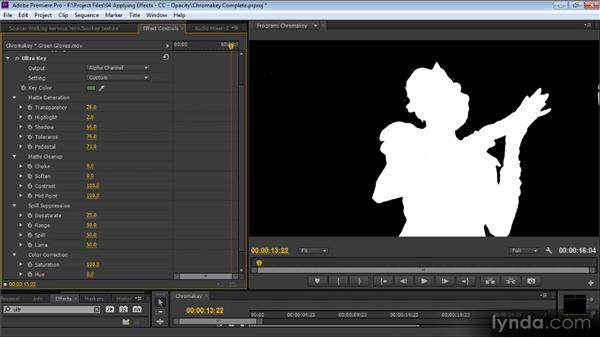 Chroma key: Premiere Pro CS6 for Avid and Final Cut Pro Editors