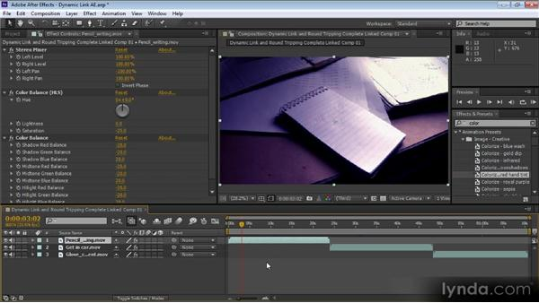 Dynamic Link and round-tripping with Adobe Creative Suite components: Premiere Pro CS6 for Avid and Final Cut Pro Editors