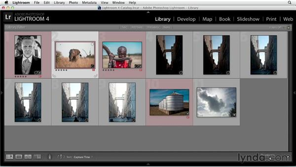Setting up Lightroom and creating versions: Black and White with Lightroom and Photoshop (2013)