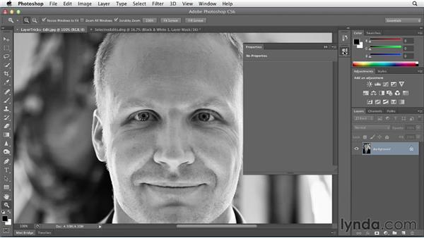 Enhancing your images using layers: Black and White with Lightroom and Photoshop (2013)