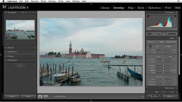 Analyzing the project photo: Enhancing a Travel Photo with Photoshop and Lightroom