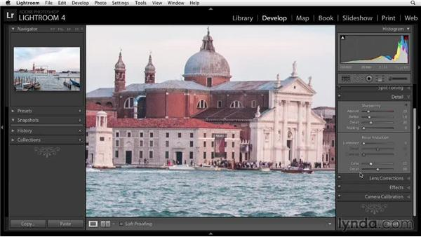 Reducing digital noise: Enhancing a Travel Photo with Photoshop and Lightroom