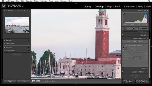Removing chromatic aberration: Enhancing a Travel Photo with Photoshop and Lightroom