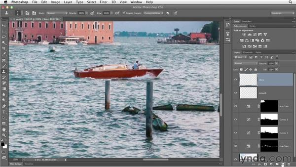 Retouching and moving content: Enhancing a Travel Photo with Photoshop and Lightroom