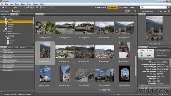 Welcome: Bridge CS6 for Photographers