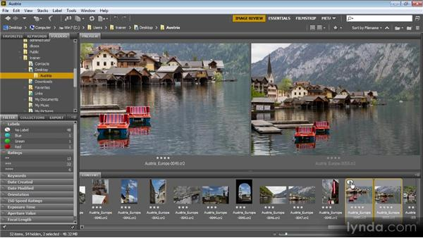 Stacking images: Bridge CS6 for Photographers