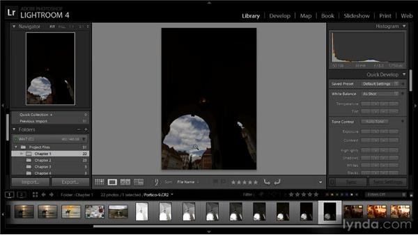 Reviewing and organizing HDR images: Getting Started with HDR