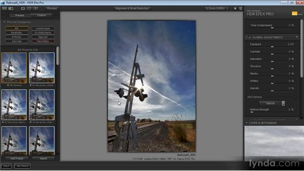 Using HDR Efex Pro with Lightroom: Getting Started with HDR
