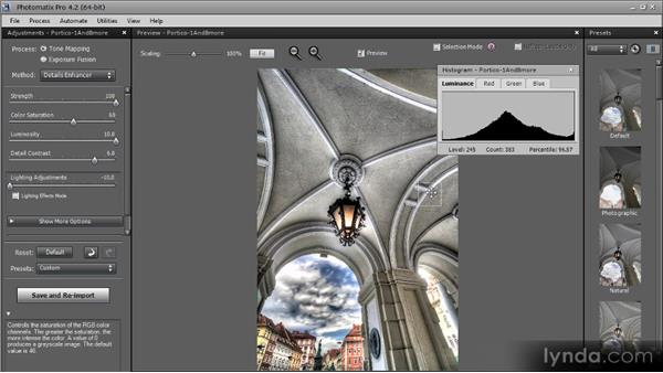Basic adjustments: Getting Started with HDR