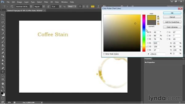 : Photoshop CS6 Text Workshop
