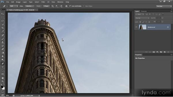 Putting text on a path: Photoshop CS6 Text Workshop