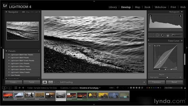 Advanced adjustments for video: Lightroom 4 Video Workshop