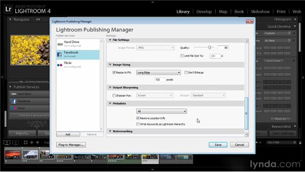 Sharing a video online: Lightroom 4 Video Workshop