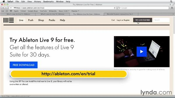 What you need to know: Ableton Live 9 Essential Training