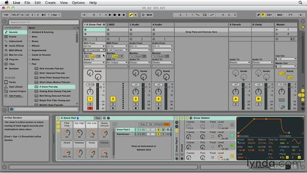 Preparing to record MIDI: Ableton Live 9 Essential Training