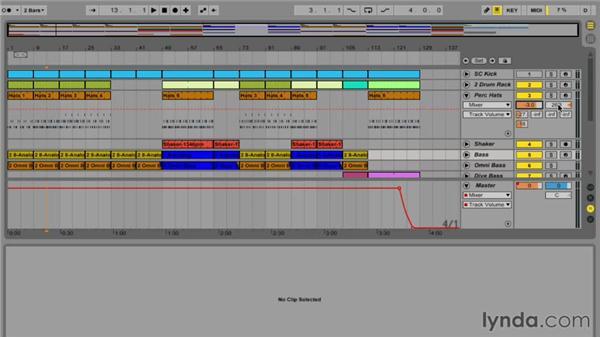 Understanding Arrangement view: Ableton Live 9 Essential Training