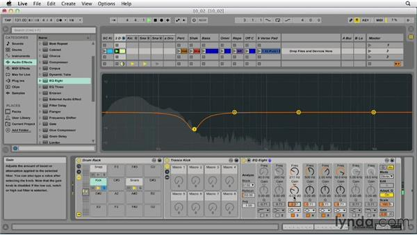 Understanding EQ and filters: Ableton Live 9 Essential Training
