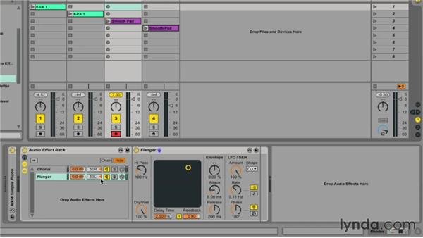 Unlocking the power of FX racks: Ableton Live 9 Essential Training