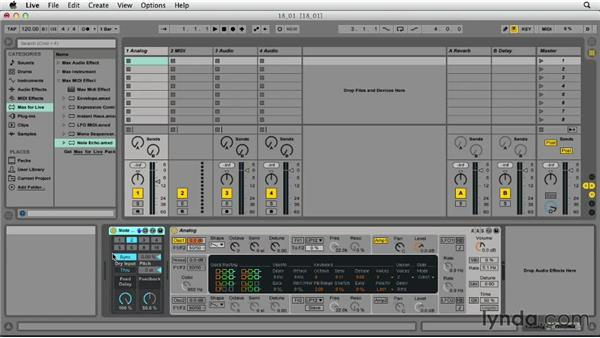 Introducing Max for Live: Ableton Live 9 Essential Training