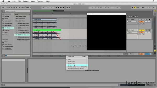 Working with video files: Ableton Live 9 Essential Training