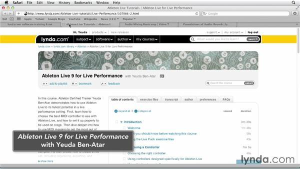 Next steps: Ableton Live 9 Essential Training
