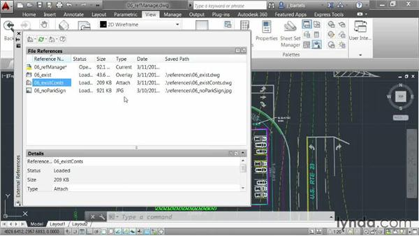 Changing xref attachments or path types: AutoCAD 2014 New Features