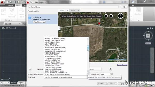 Adding aerial photography: AutoCAD 2014 New Features