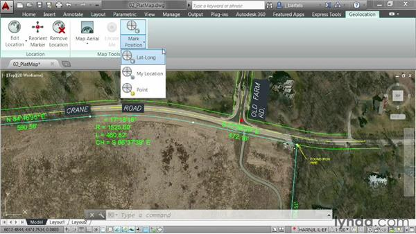Exploring geolocation options: AutoCAD 2014 New Features