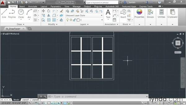 Reviewing drawing enhancements: AutoCAD 2014 New Features