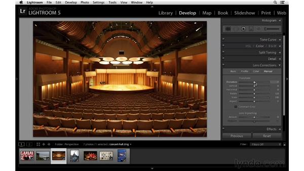 Fixing perspective with Upright: Lightroom 5 New Features