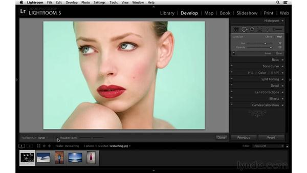 Applying more flexible and precise retouching: Lightroom 5 New Features