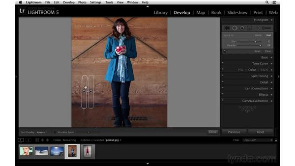 Making linear and free-form corrections: Lightroom 5 New Features